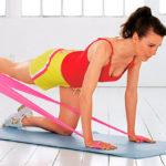 Как выполнять упражнения с фитнес резинками, чтобы убрать жир с живота